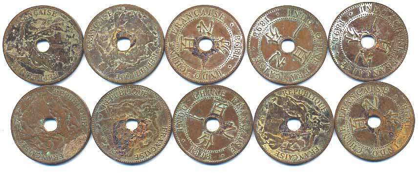 K8 Lot Cent 1898 Rarest Date For Type Purchased From U S Servicemen Who Cherry Picked Them Ca 1970 Sitting Too Long In My Stock